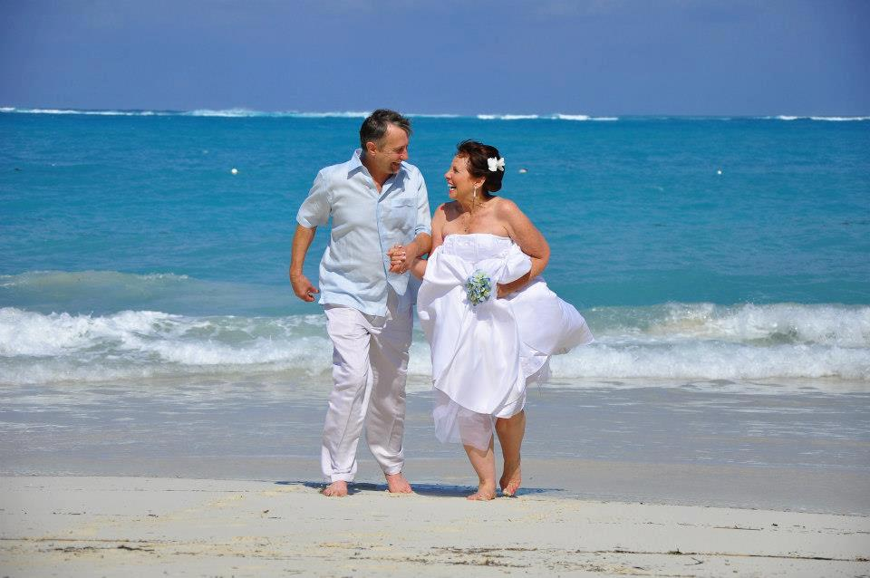 Beaches Resort Turks and Caicos Retie the Knot