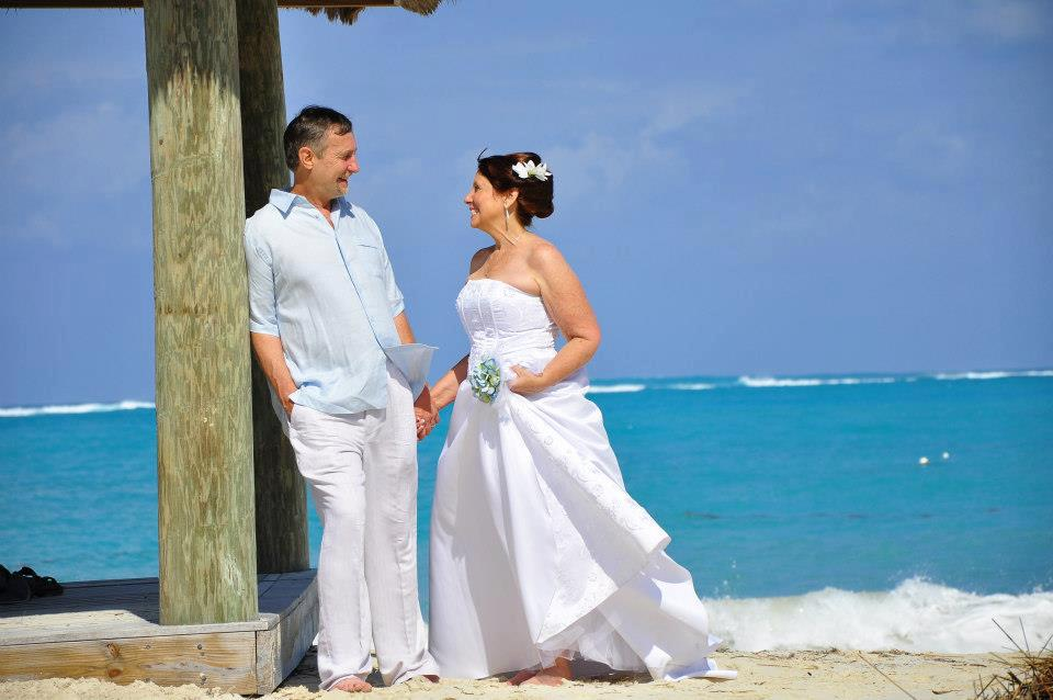 Beaches Resort Turks and Caicos Vow Renewal