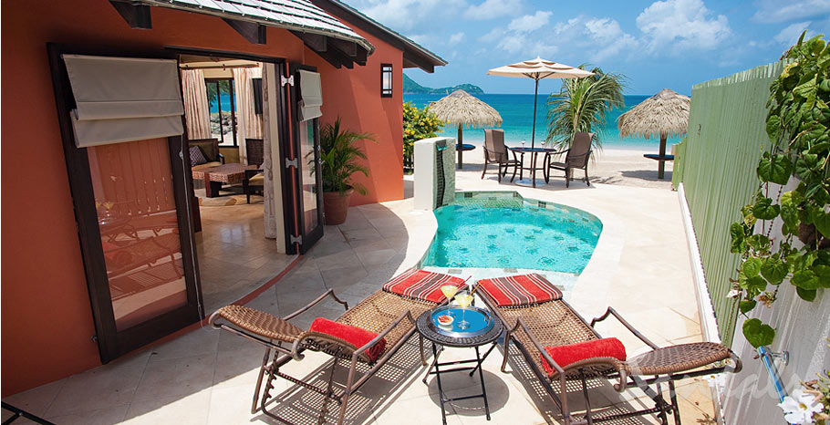 Rondoval Butler Suites St Lucia