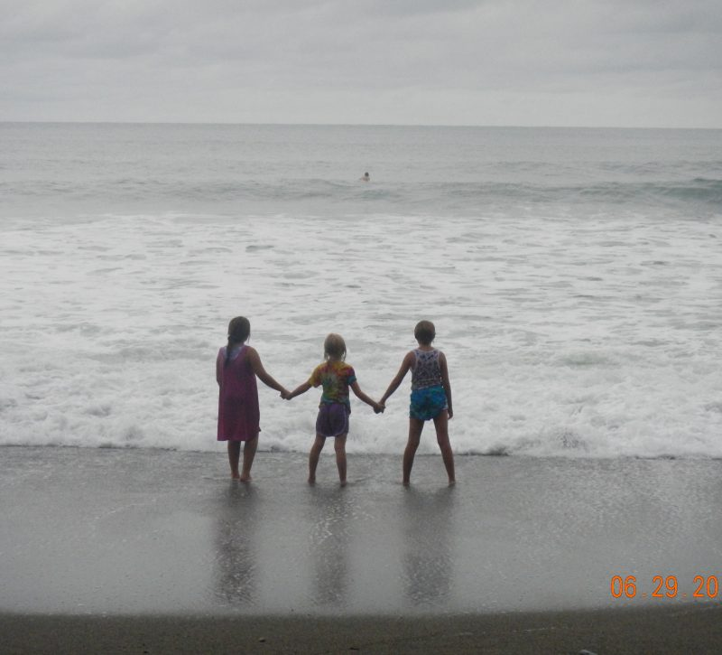 Costa Rica family beach vacation