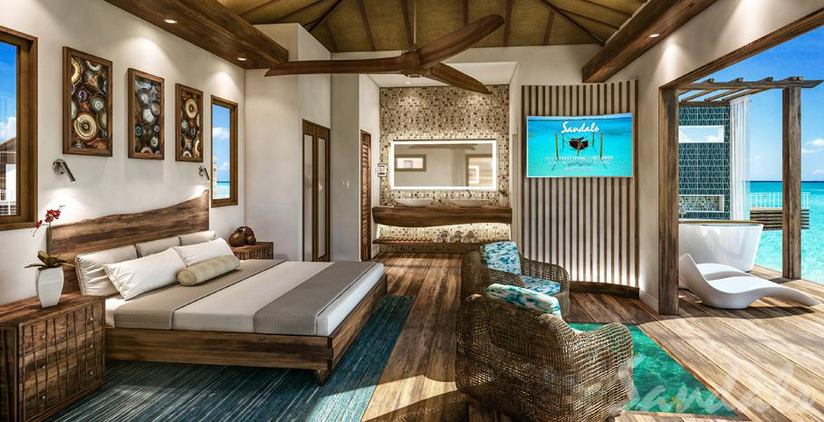All Inclusive Overwater Bungalow