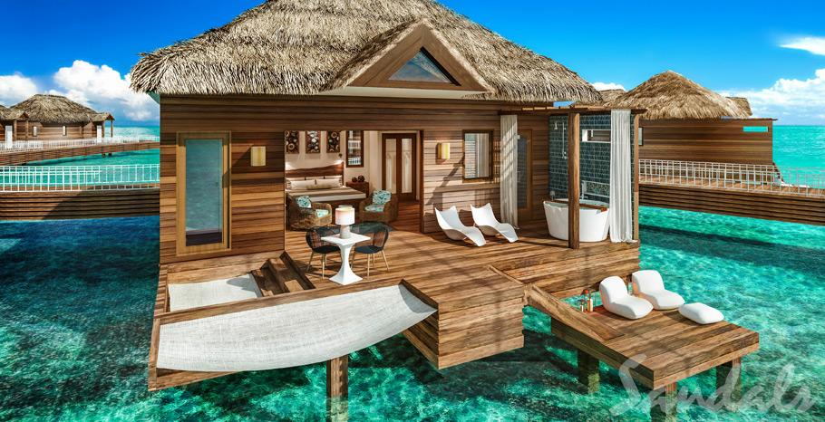 Sandals Grande St Lucian Overwater Bungalow