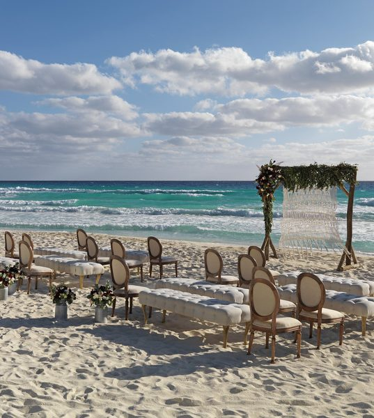 Unico destination wedding beach chic
