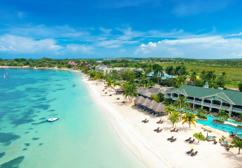 Sandals with best beach Negril
