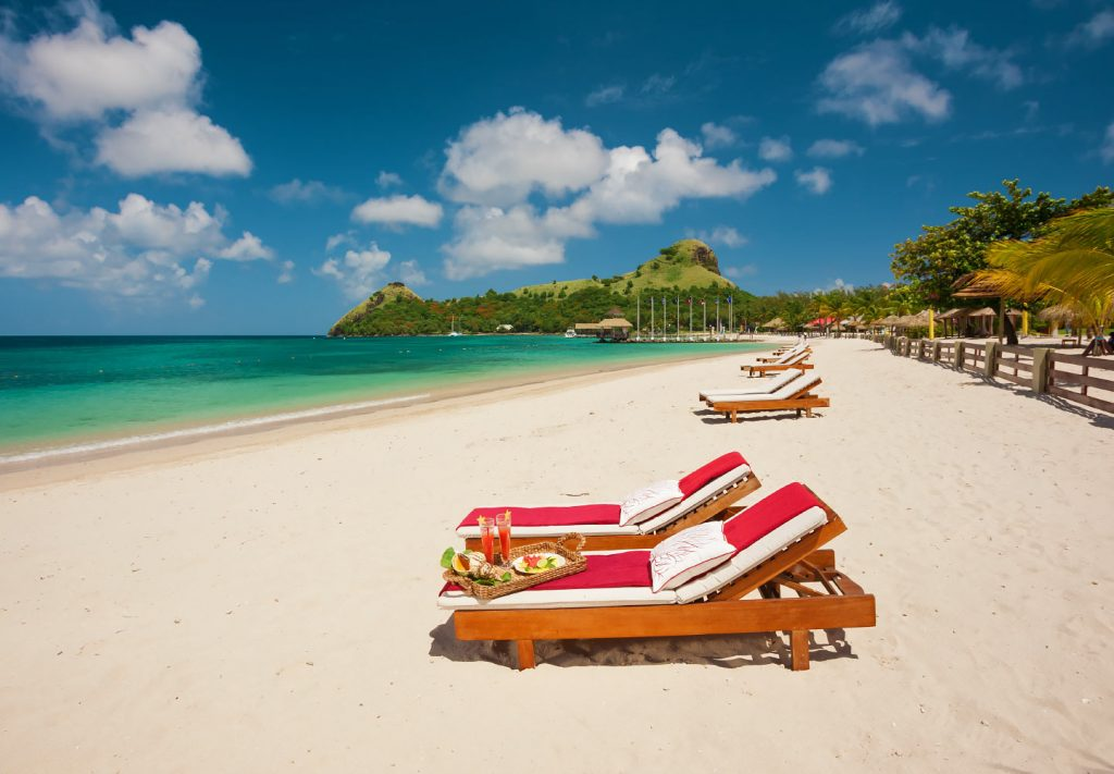 Sandals Resort with the best beach Sandals Grande St Lucian