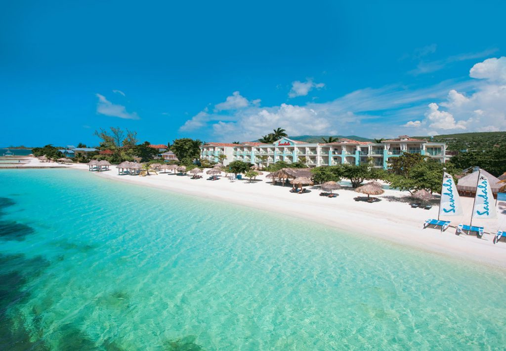 Sandals with best beach Montego Bay