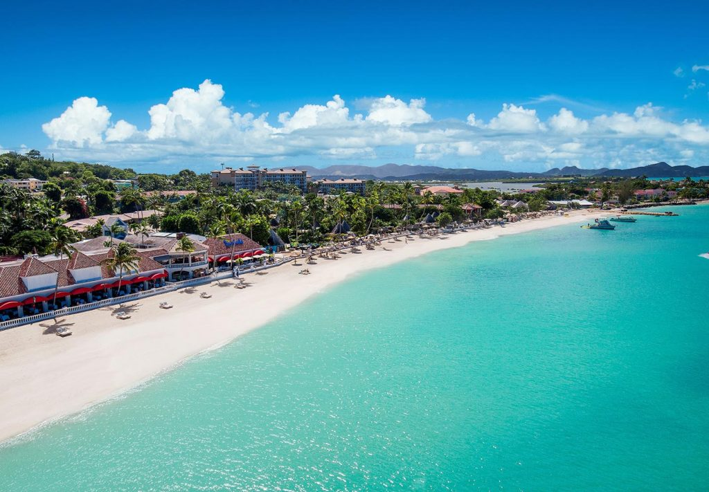 Sandals with best beach Antigua