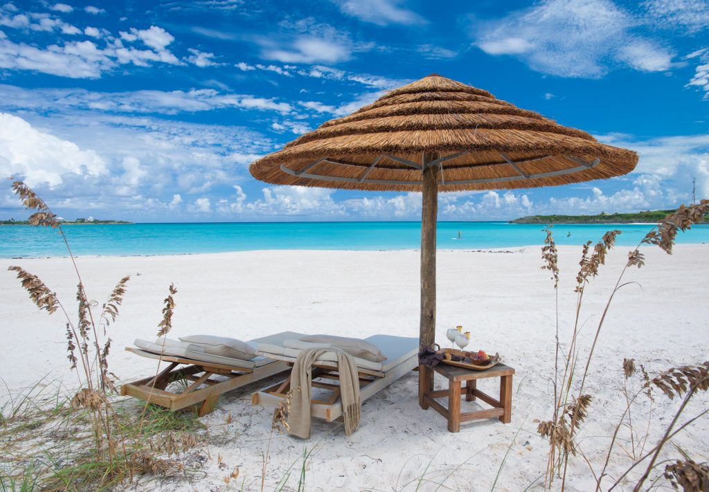 Exuma All Inclusive Resort - beach at Sandals Emerald Bay