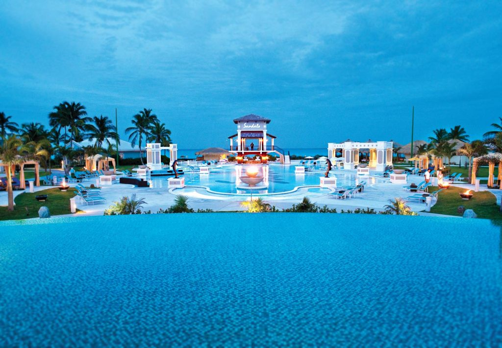 Exuma All Inclusive Resort - Sandals Emerald Bay main pool