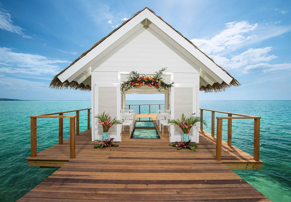 Overwater Chapel at Sandals South Coast Photo Courtesy of Sandals Resorts