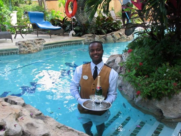 Sandals Butler at Sandals Royal Caribbean and Private Island